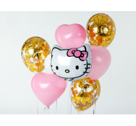 Букет для девочки Hello Kitty